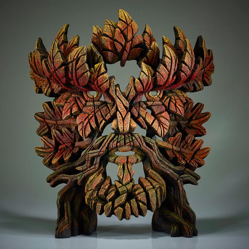 Green Man Bust (Autumn Flame)