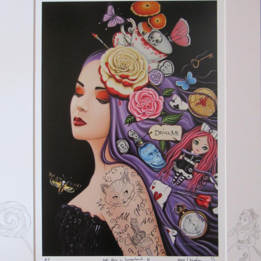 Goth Alice In Wonderland, 2020
