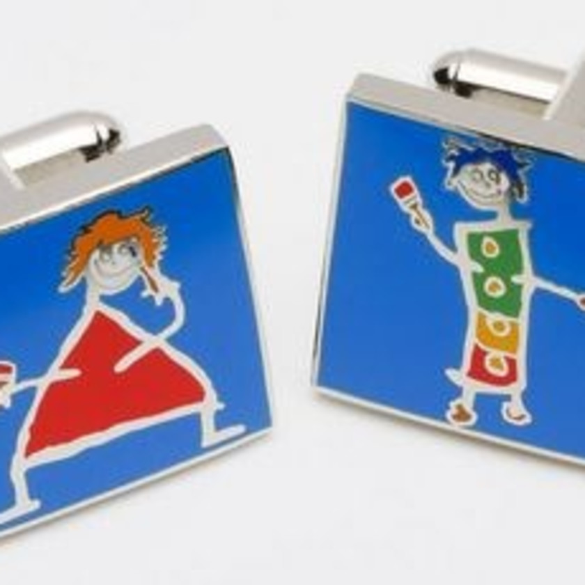 Painting The Town Too - Cufflinks