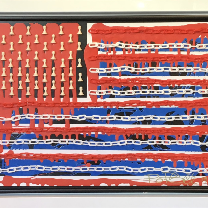 Chains & Pawns Red, White & Blue, 2019