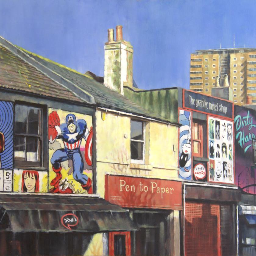 A Brighton Series -Sydney Street Print , 2018