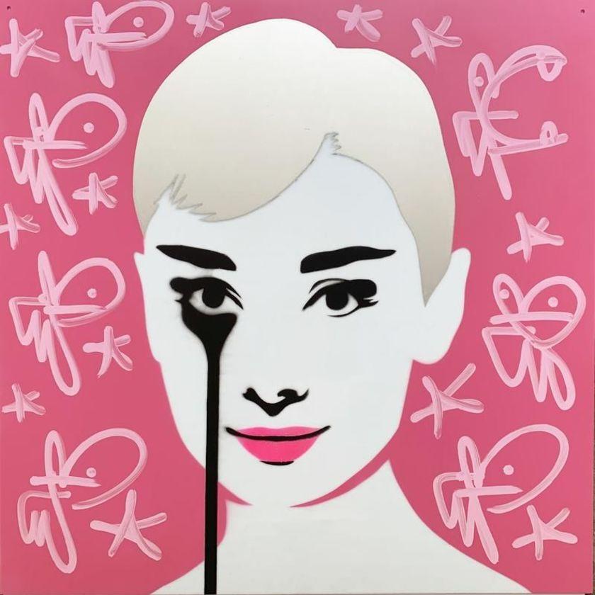 Perspex Mel Ferrer's Nightmare - Pink Audrey