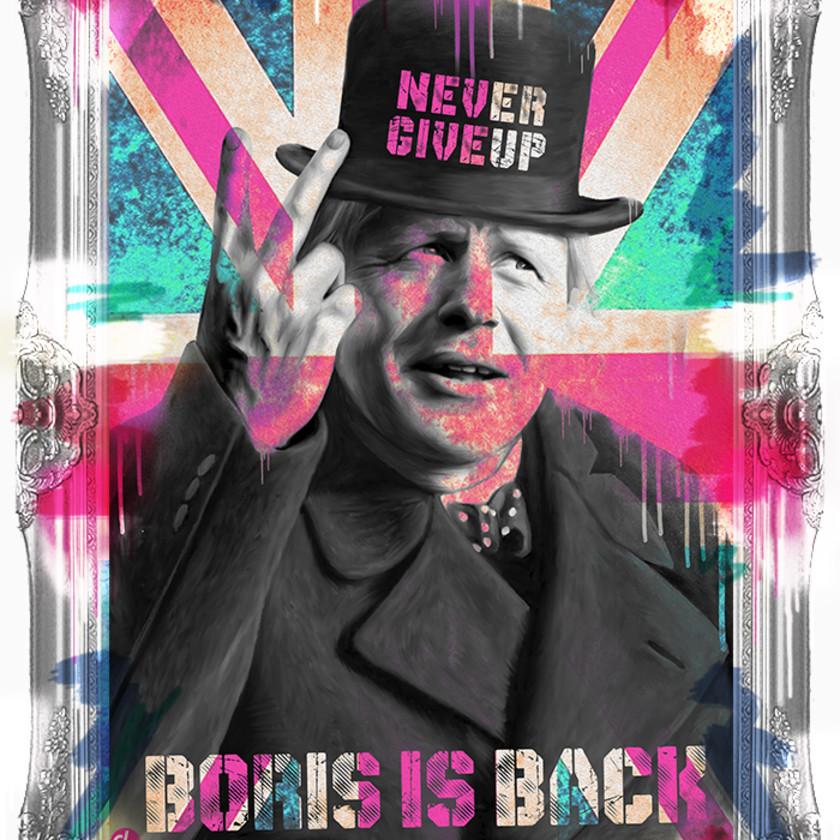 Boris Is Back - Silver, 2020