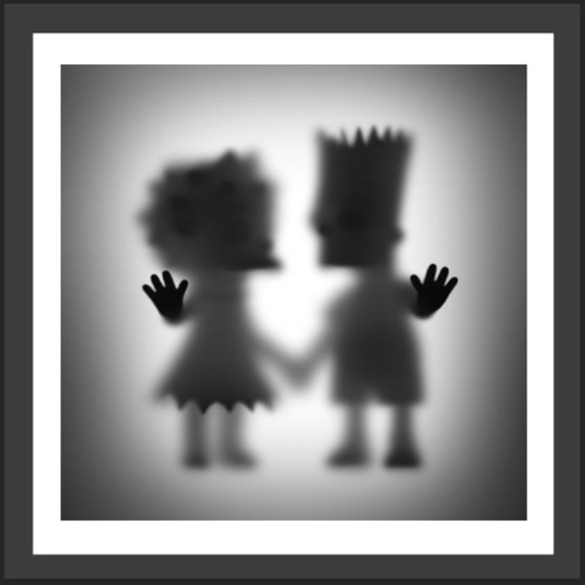 Gone Bart and Lisa