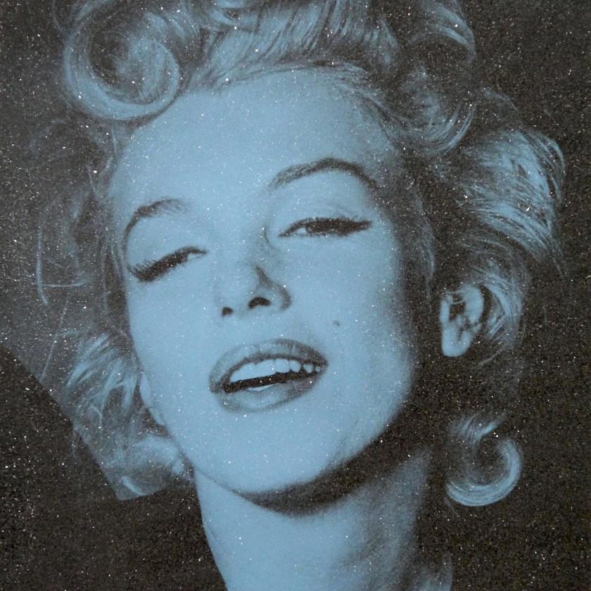 Marilyn Monroe-Blue, 2018