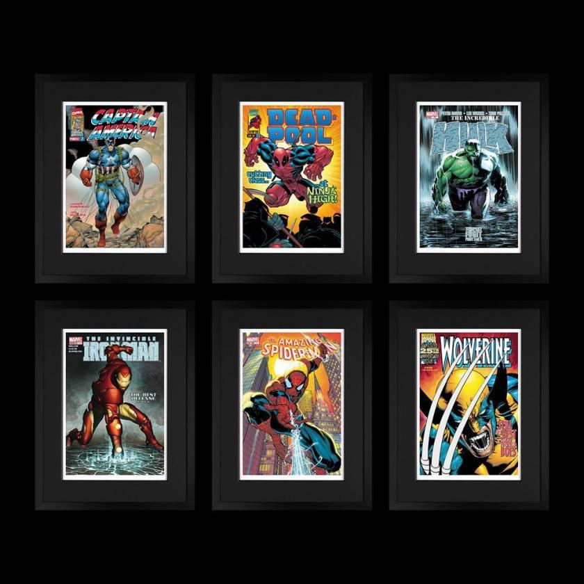 Marvel Superheroes - Portfolio of 6 , 2018