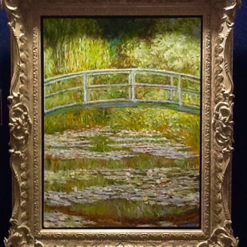 Claude Monet The Bridge at Giverny
