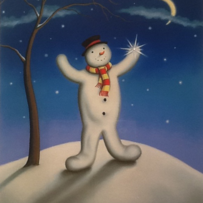 The Lost Snowflake - Artist Remarque