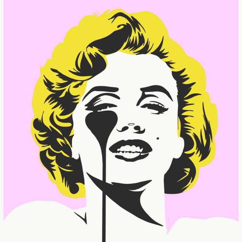 I Dream of Marilyn - Golden Yellow Hair