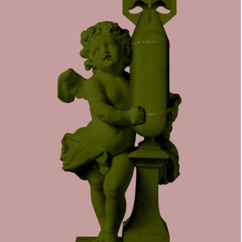 CUPID (AMOR VINCIT OMNIA) - Green/Pink, 2020
