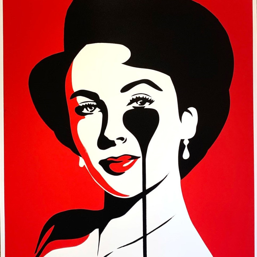 Liz Loves Rich - Red