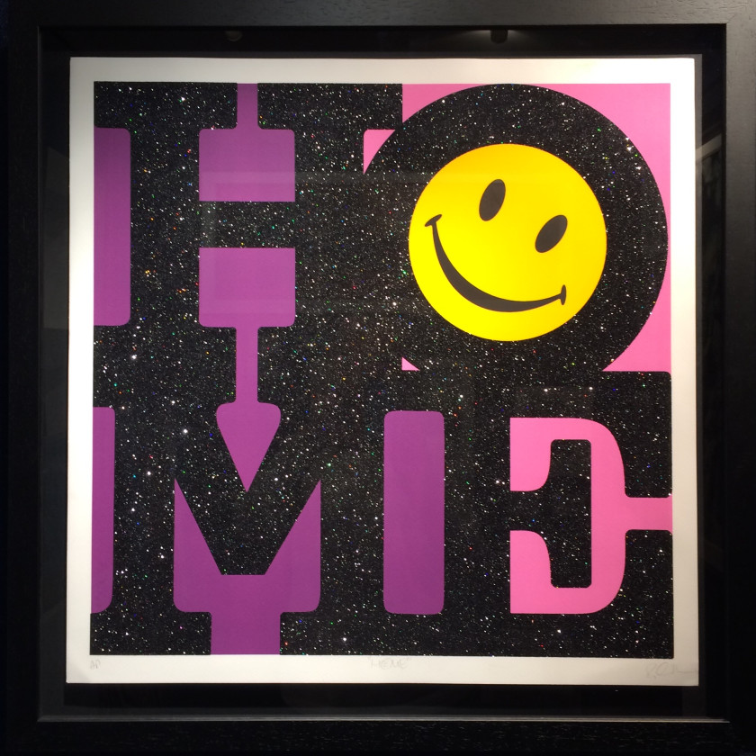 Home - Pink, 2017