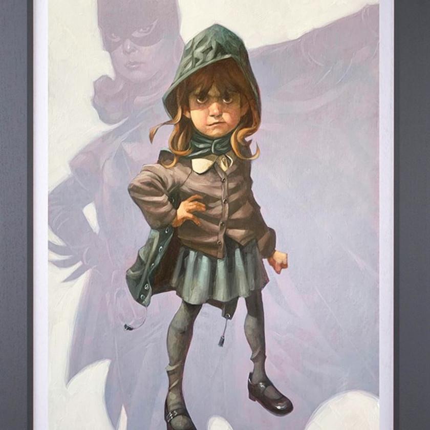 Gotham Girl - Canvas, 2020