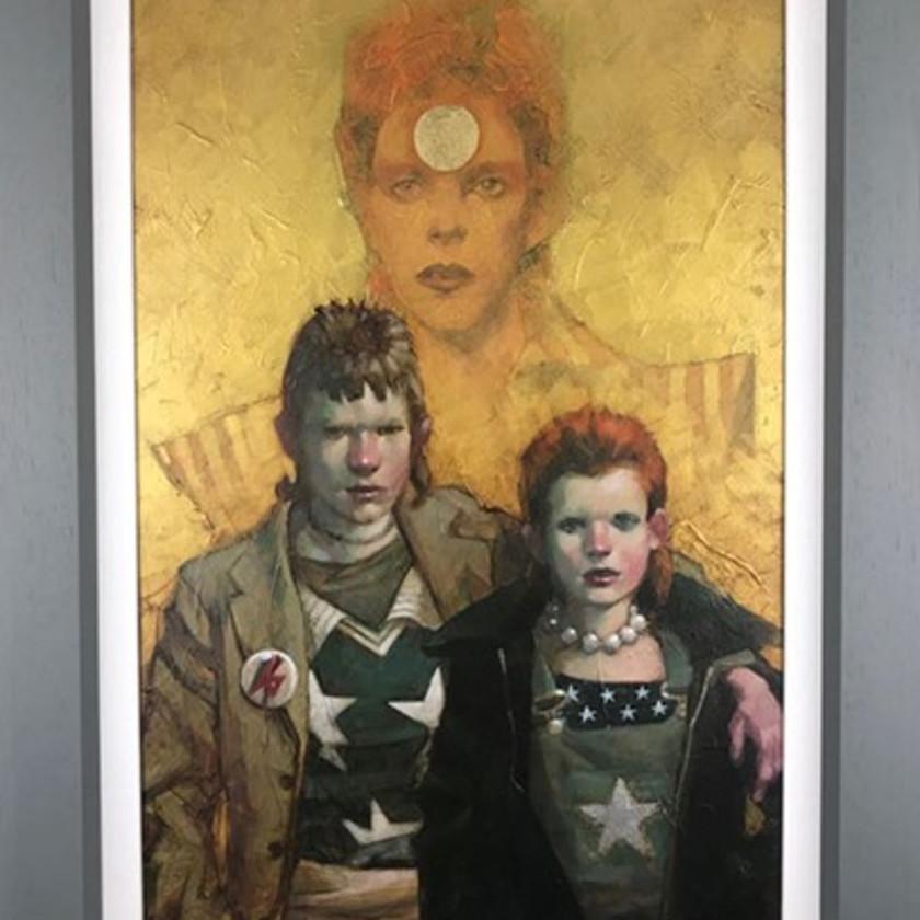Golden Years - Let The Children Boogie - Canvas, 2018