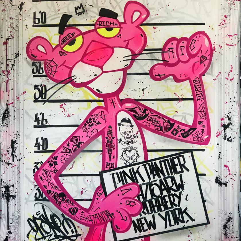 Pink Panther Mug Shot, 2020