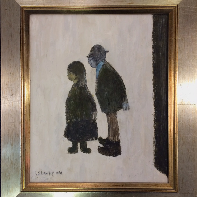 LS Lowry - Two People, 2018