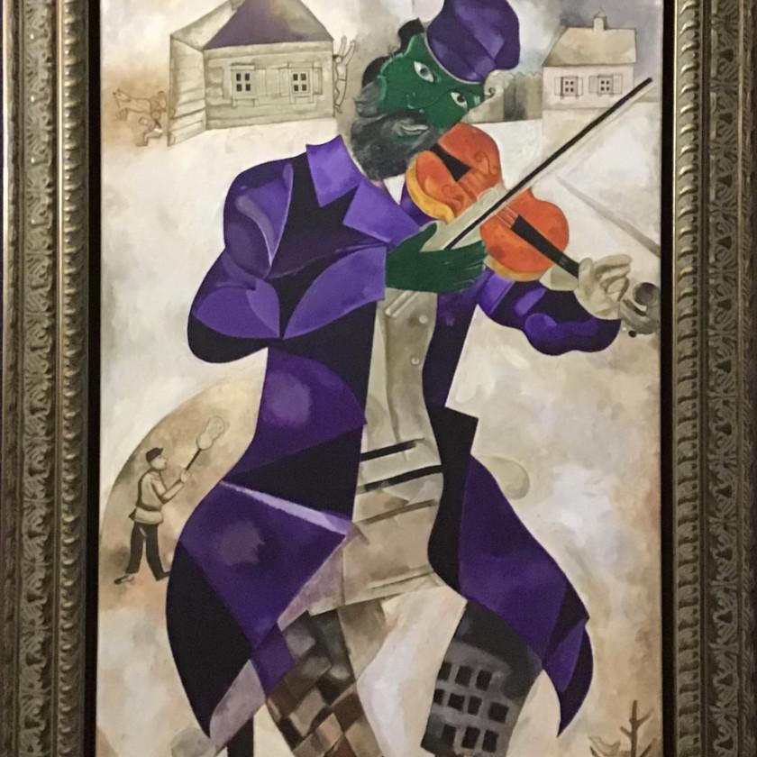 Marc Chagall - Green Violinist, 2020