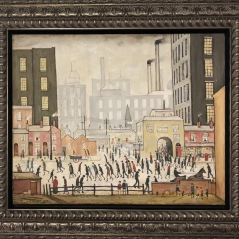L S Lowry Coming From The Mill, 2020