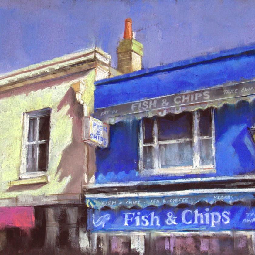 A Brighton Series -Fish & Chips, 2018