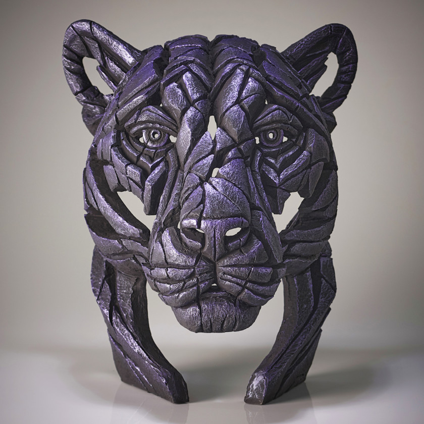 Panther Bust Moon Hunter (Purple), 2020