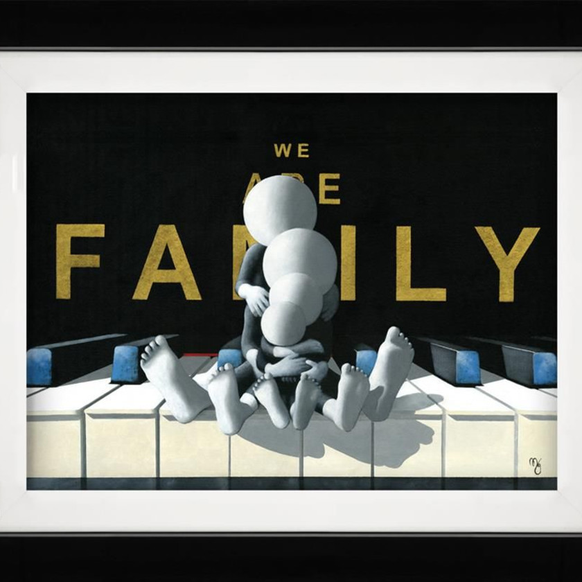 We Are Family - 3D High Gloss, 2019