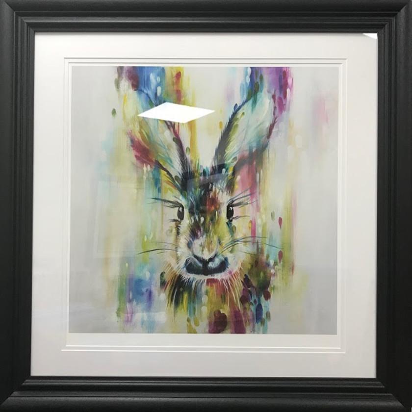 Hare - Escape - Small, 2018