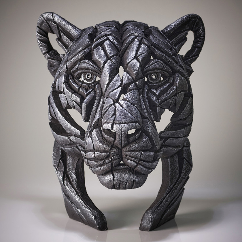 Panther Bust Silent Silver (Silver), 2020