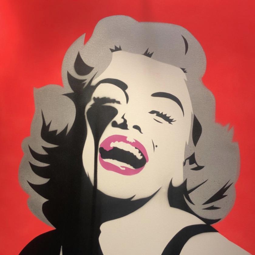 Screaming Marilyn - Lava