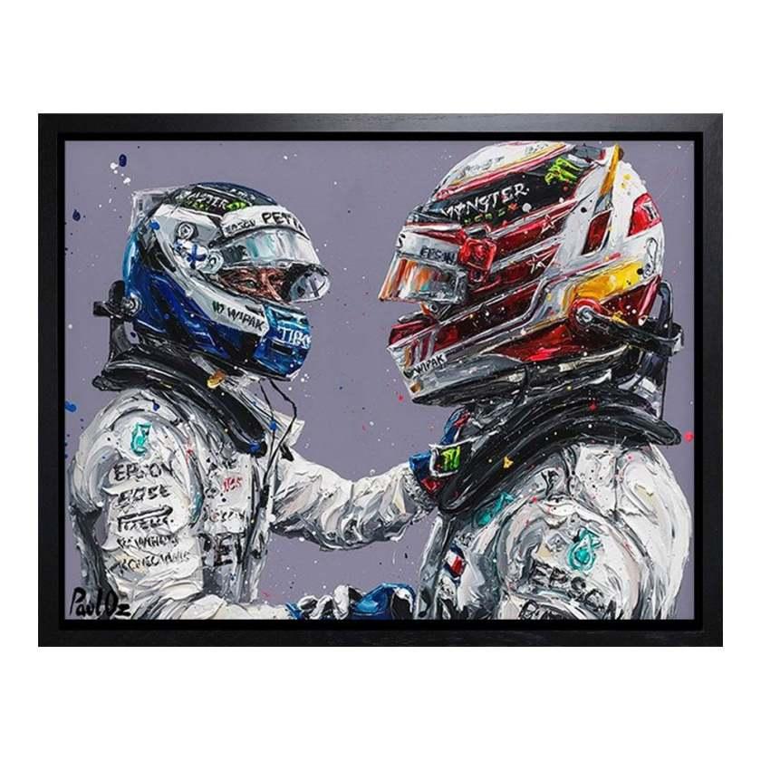 Hamilton & Bottas '18, 2019