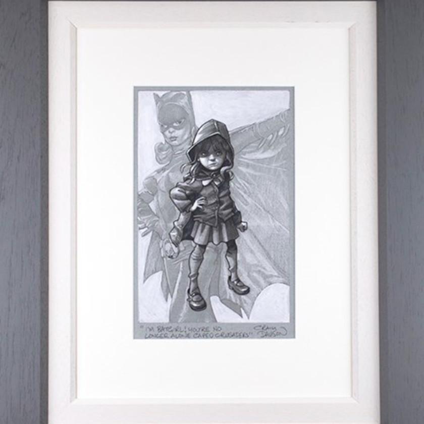 Gotham Girl - Sketch , 2020