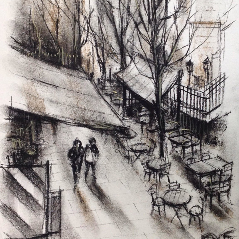 A Winter Stroll - Borough Market, 2019