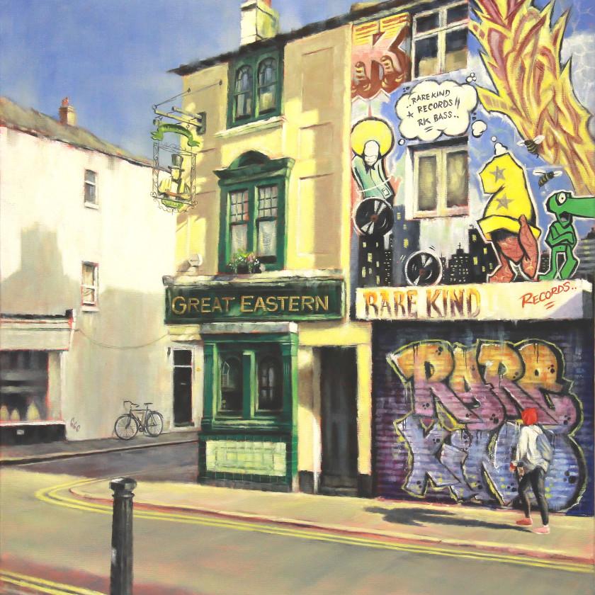 A Brighton Series -Trafalgar Street Print , 2018