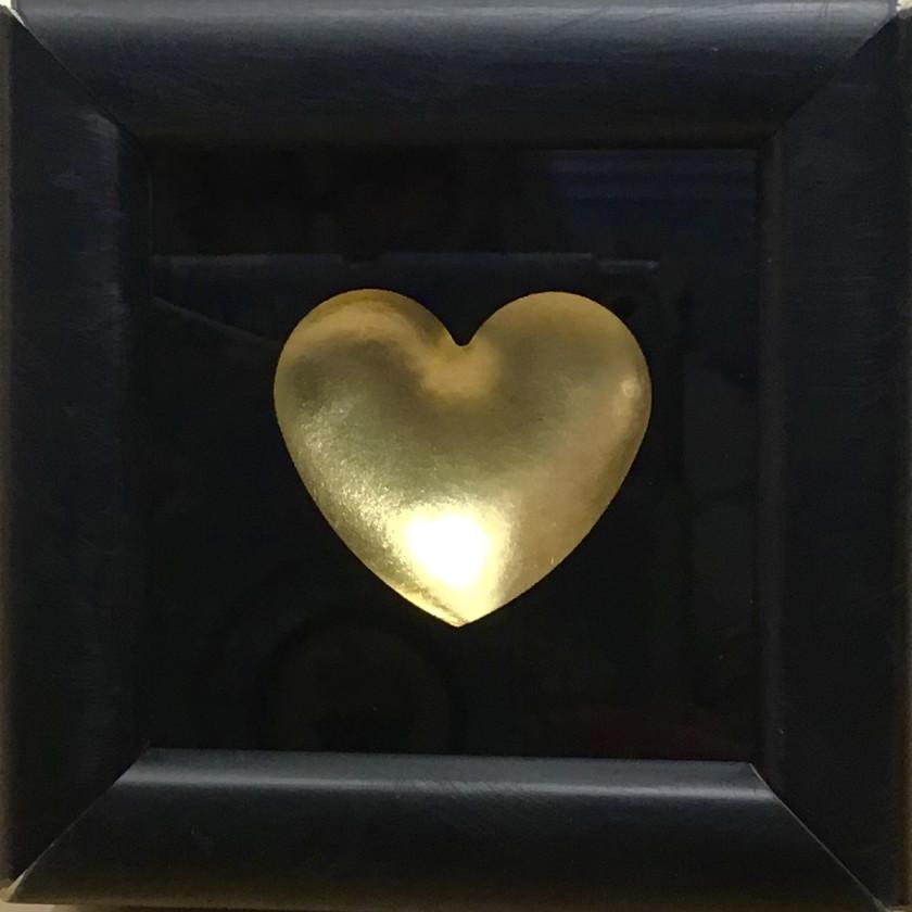 Mini Heart - Gold