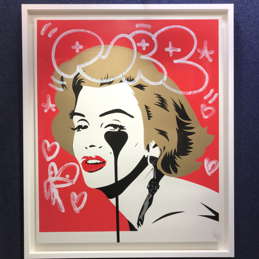 Marilyn Glam White Lines, 2020