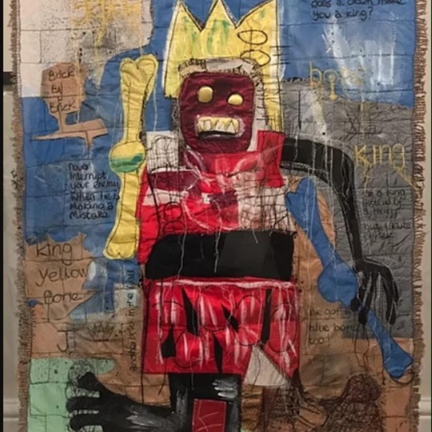For The Love Of Basquiat - Original, 2019