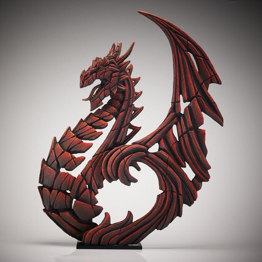 Heraldic Dragon - Red, 2018