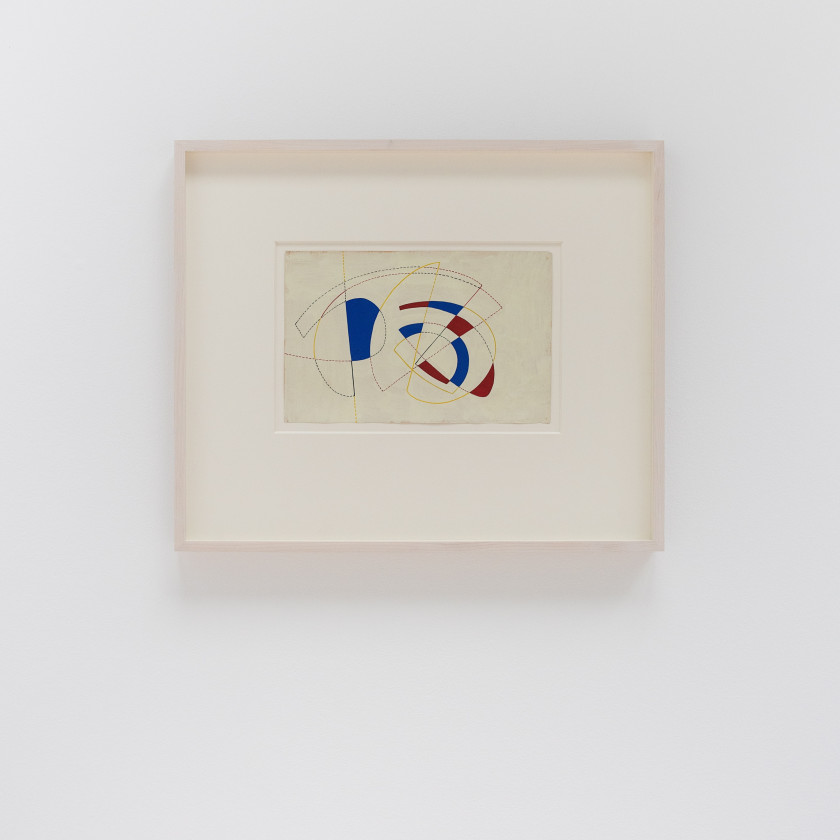Victor Magariños D Works on Paper from the 1950s to the 1990s
