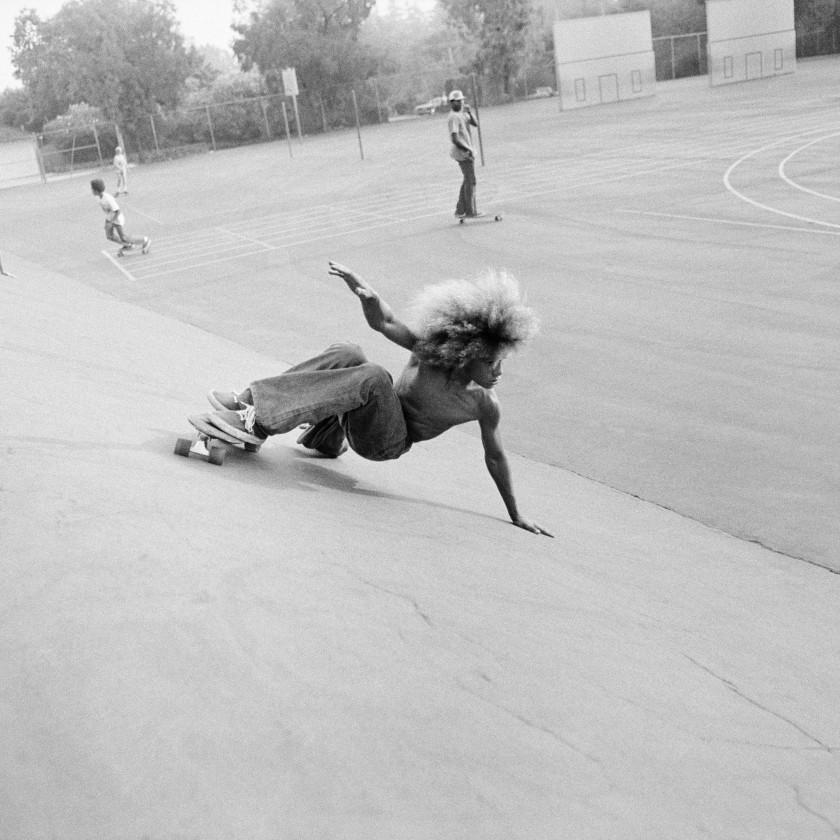 Hugh Holland Silver. Skate. Seventies.
