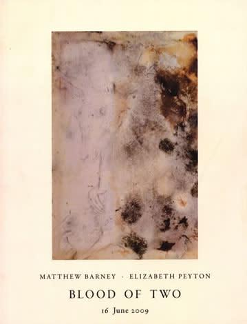 Matthew Barney & Elizabeth Peyton