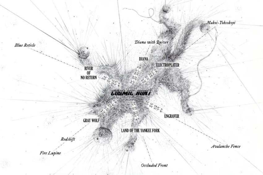 马修·巴尼:宇宙狩猎