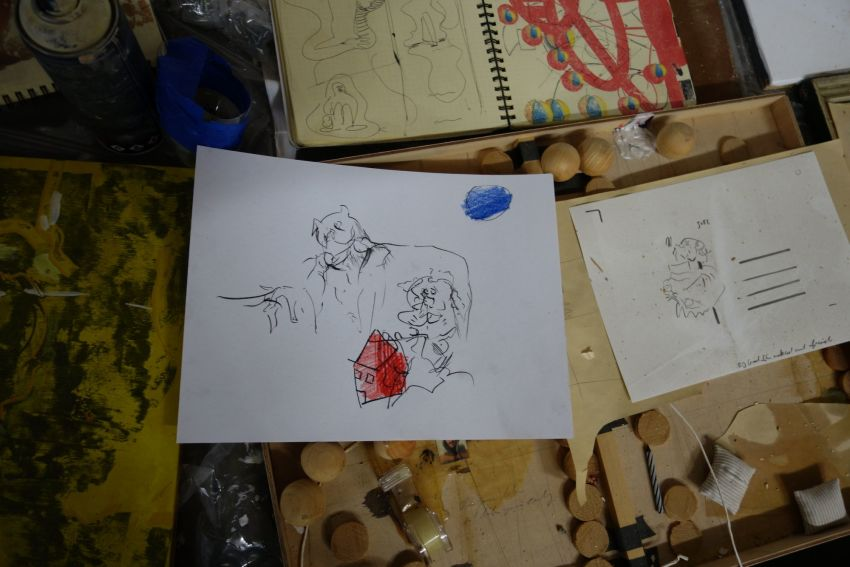 在线展览|乌里·阿兰新作展「橙子 vs 他们」