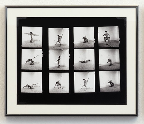 Untitled (Franz West contact sheet)
