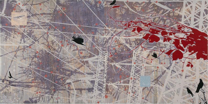 Tanja Softić, Migrant Universe: The Landscape and Departure, 2008