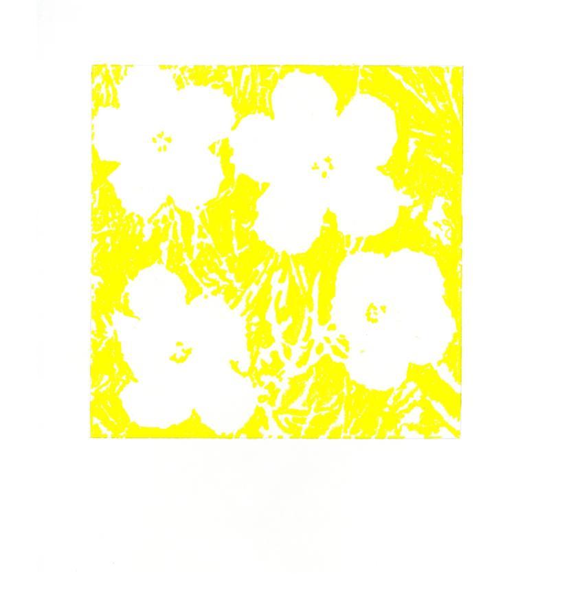 "John Zinsser, After Andy Warhol, ""Flowers,"" 1964 (Yellow), 2011"