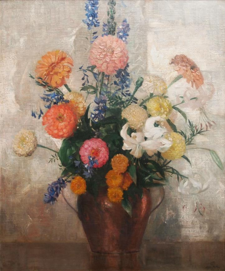 Hermann Dudley Murphy, Bouquet of Summer Flowers, Circa 1925