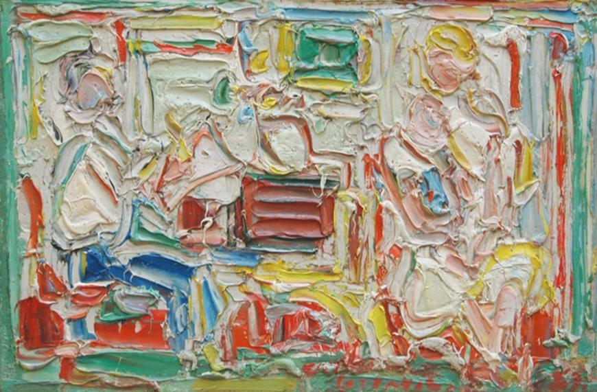 Le Peintre Dessinant Muriel et Florian
