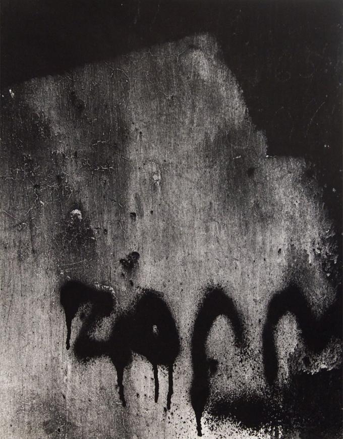 Aaron Siskind, Chicago 45, 1960, printed 1970s