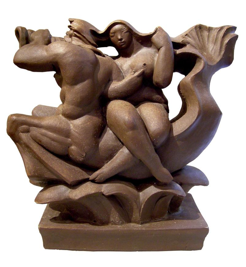 Albert Wein, Woman on Triton, 1981
