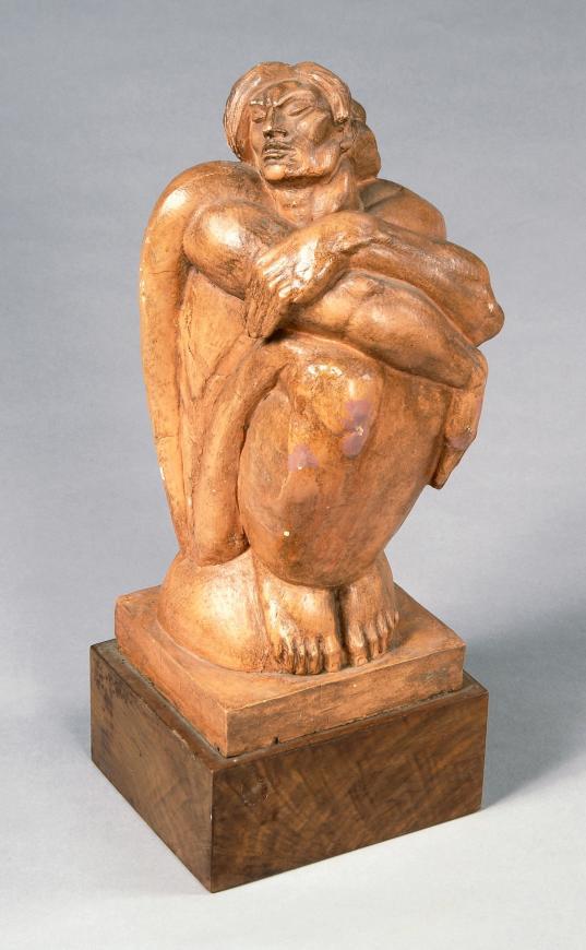 Albert Wein, Crouched Man, Circa late 1930s