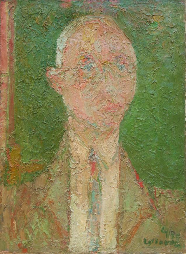 Portrait of Mark Rosenhaft